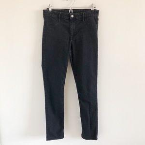🆕 H&M Black Skinny Ankle Jeans Size 30